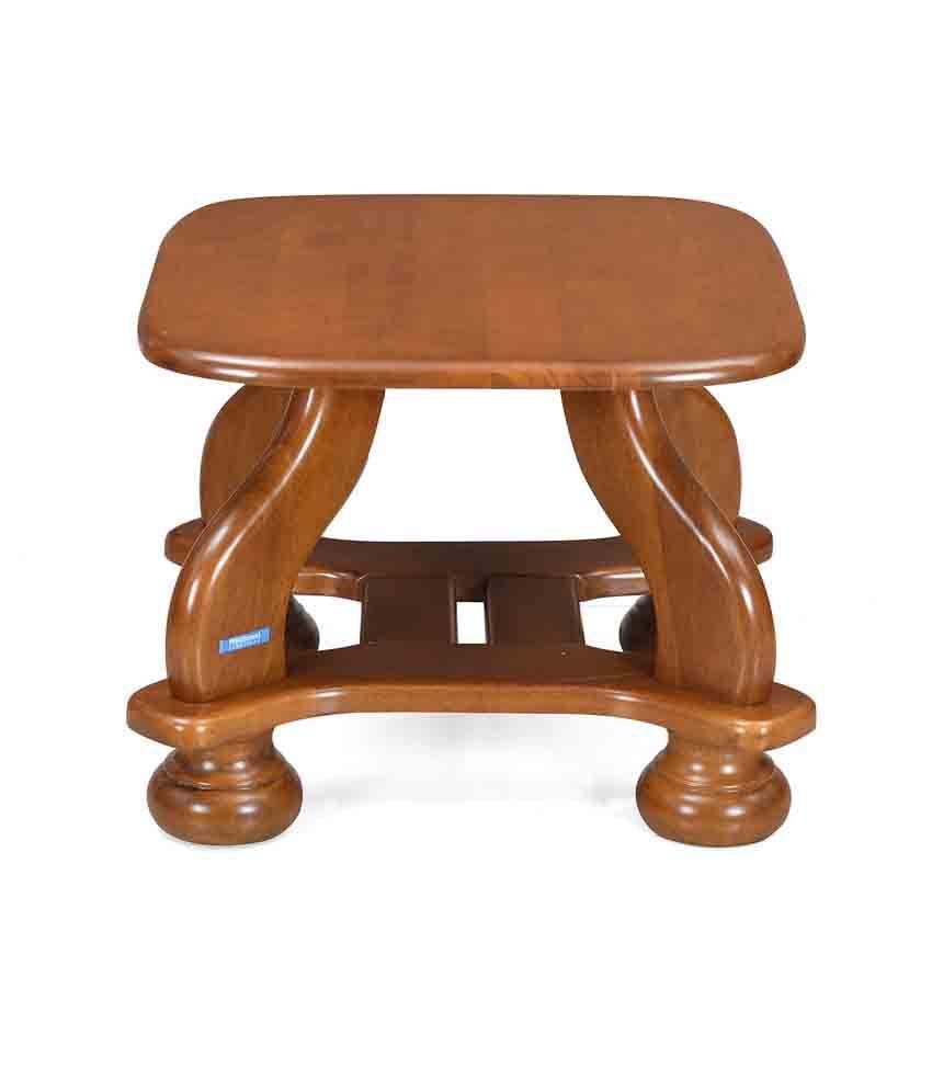 Nilkamal Winston Solid Wood Corner Table