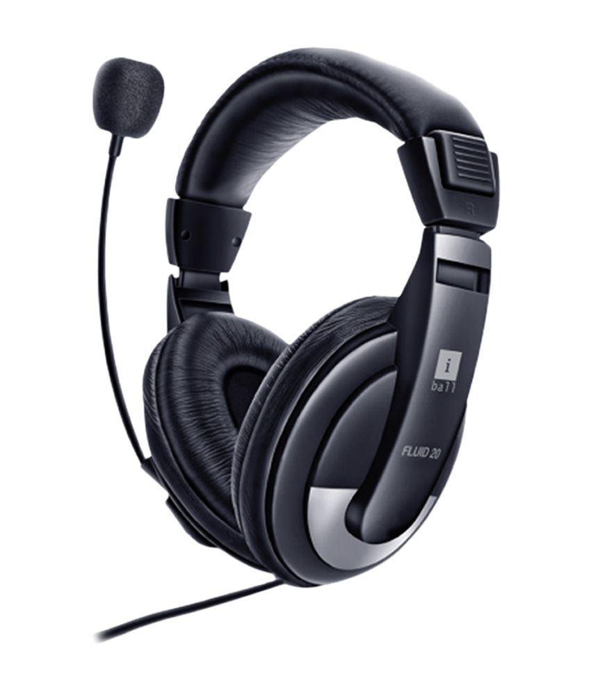 IBall Fluid 20 USB On Ear Wired Headset