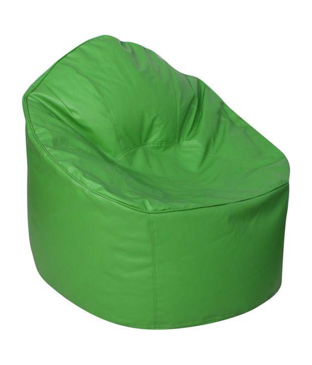 Sattva Muddha Sofa Xxxl Bean Bag With Beans Neon Green
