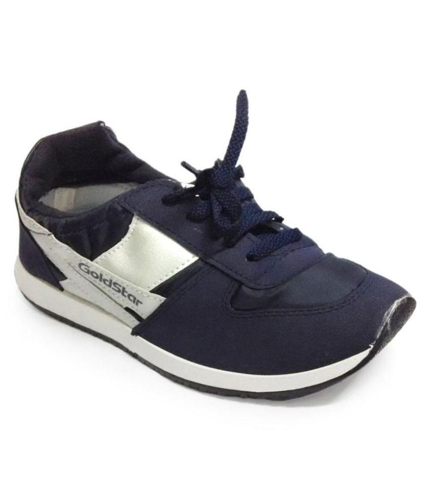 7c77838cd2fd Goldstar Navy Canvas Shoes