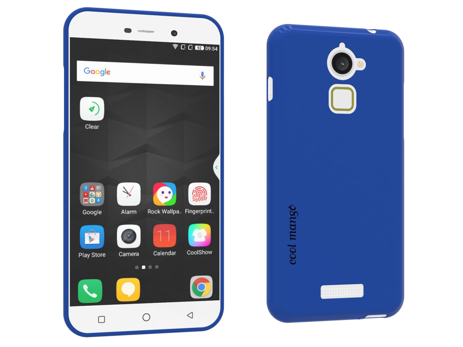 Cool Mango FlexiGel Back Cover for Coolpad Note 3 LITE - Blue