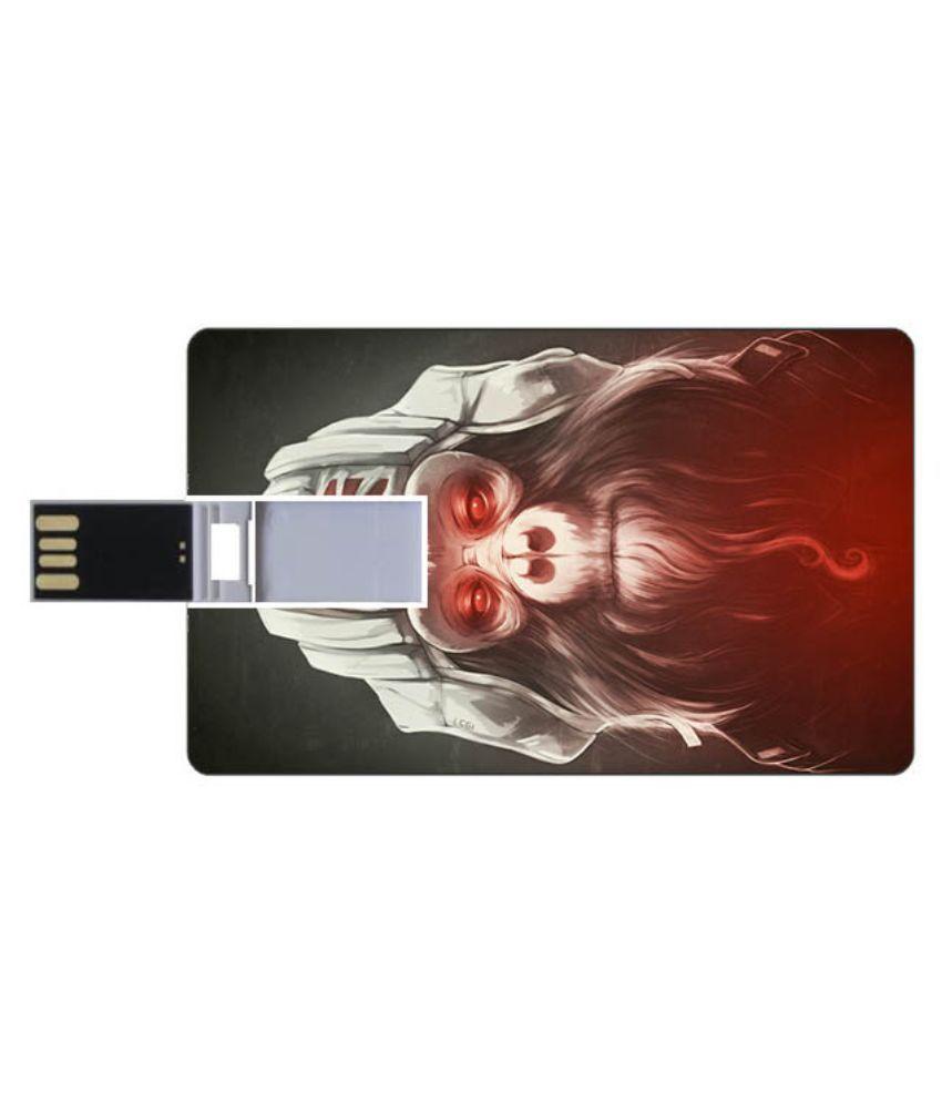 Youberry Credit Card Shape 16 GB Pen Drives Multicolour
