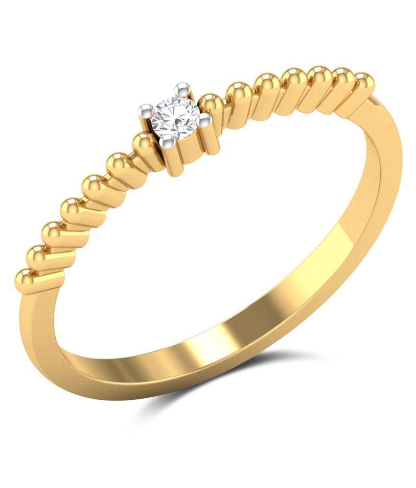 Zaamor Diamonds 18kt Gold Diamond Ring