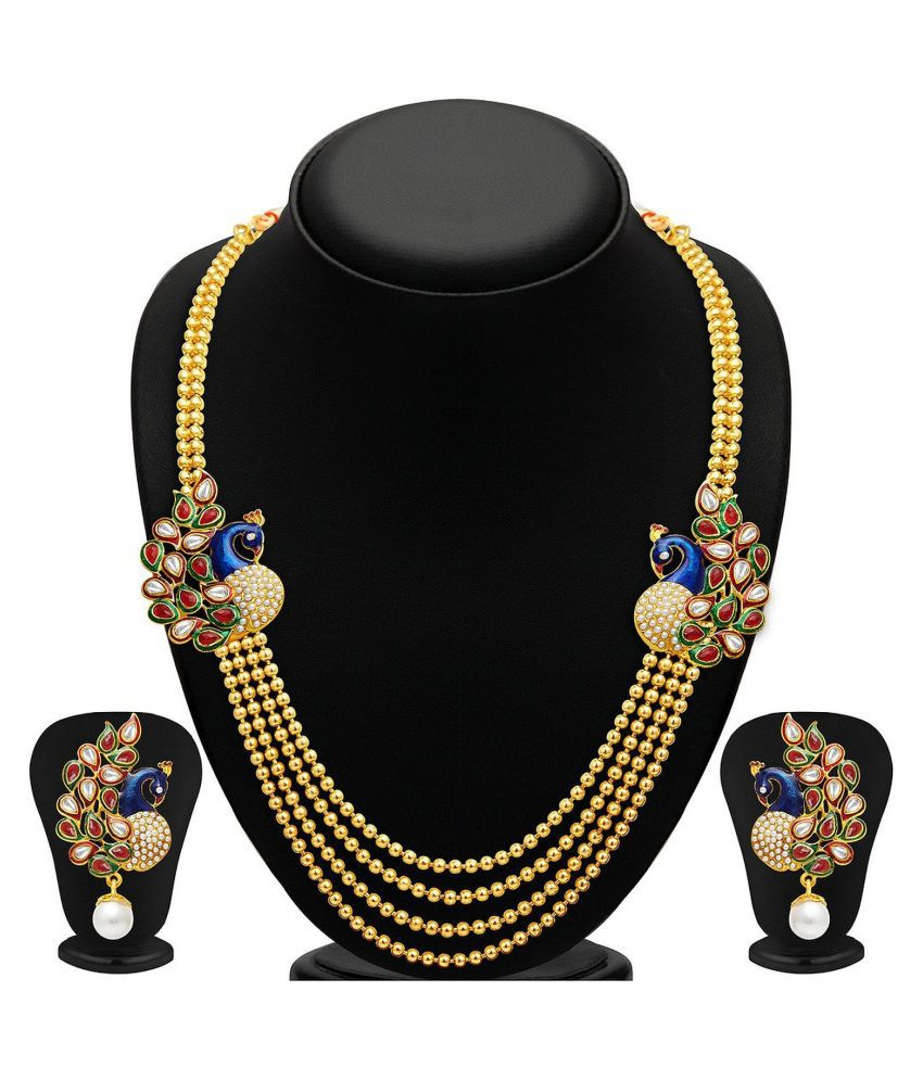 Penny Jewels Multicolour Alloy Necklace Set