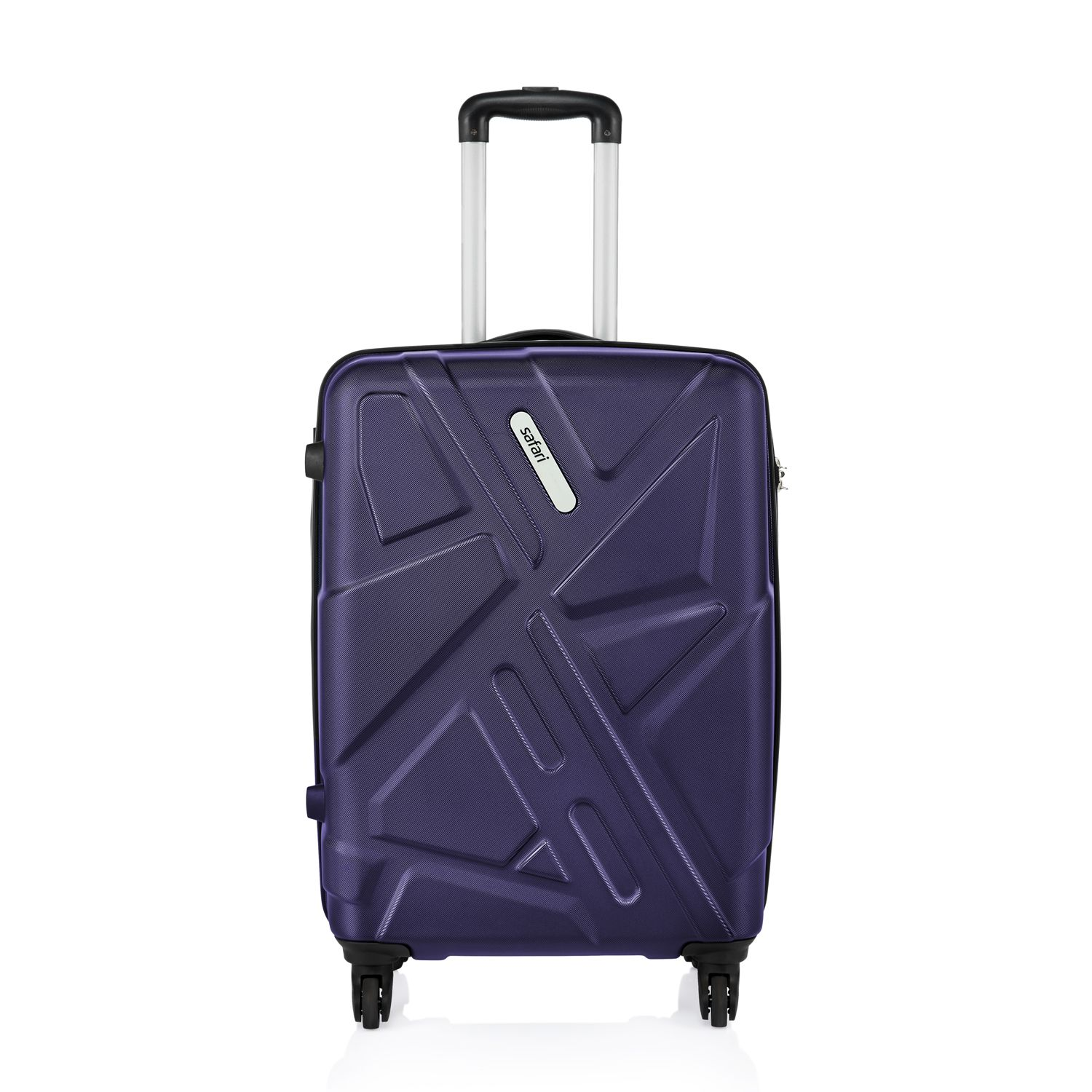 Get Going!! Upto 55% Off On American Tourister, Skybags & More By Snapdeal | Safari Traffik-Anti Scratch Purple 4 Wheel Hard Luggage-Size Medium (Between 61 Cm-69Cm) @ Rs.3,600