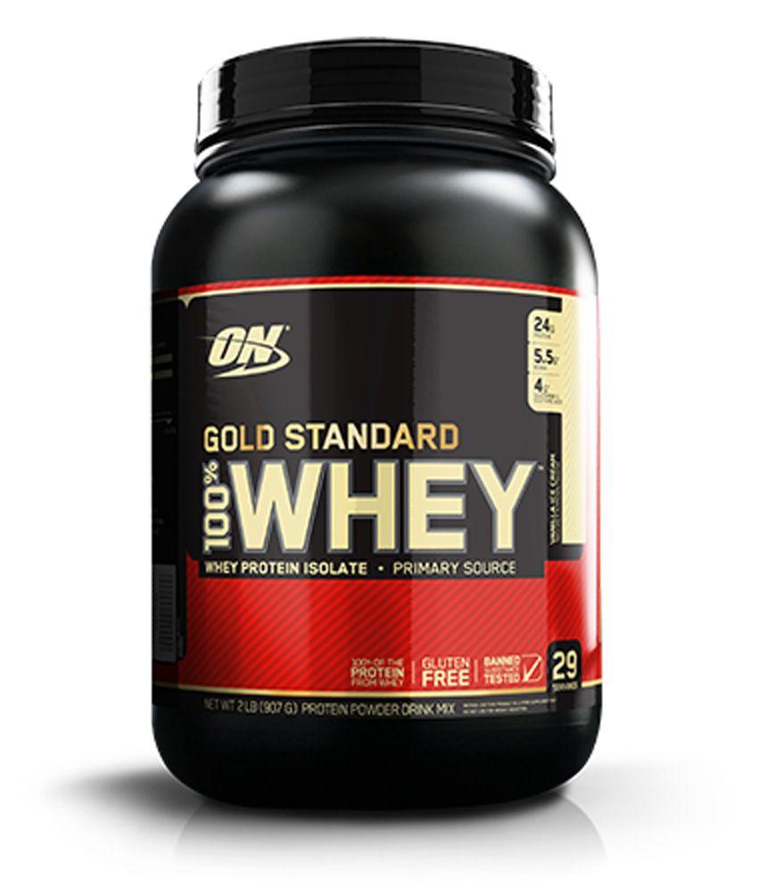 Optimum Nutrition (ON) 100% Whey Gold Standard - 2 lbs