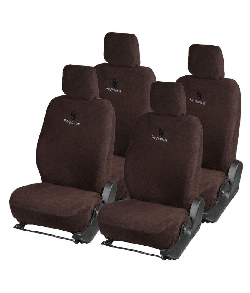 Pegasus Premium Brown Towel Car Seat Cover For Kwid Buy