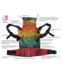Anmol Multicolor Baby Carrier