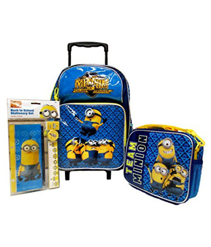 """Blue Team Thomas the Train 16/"""" Large Rolling Backpack"""
