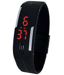 Sams Black Casual Digital Watch