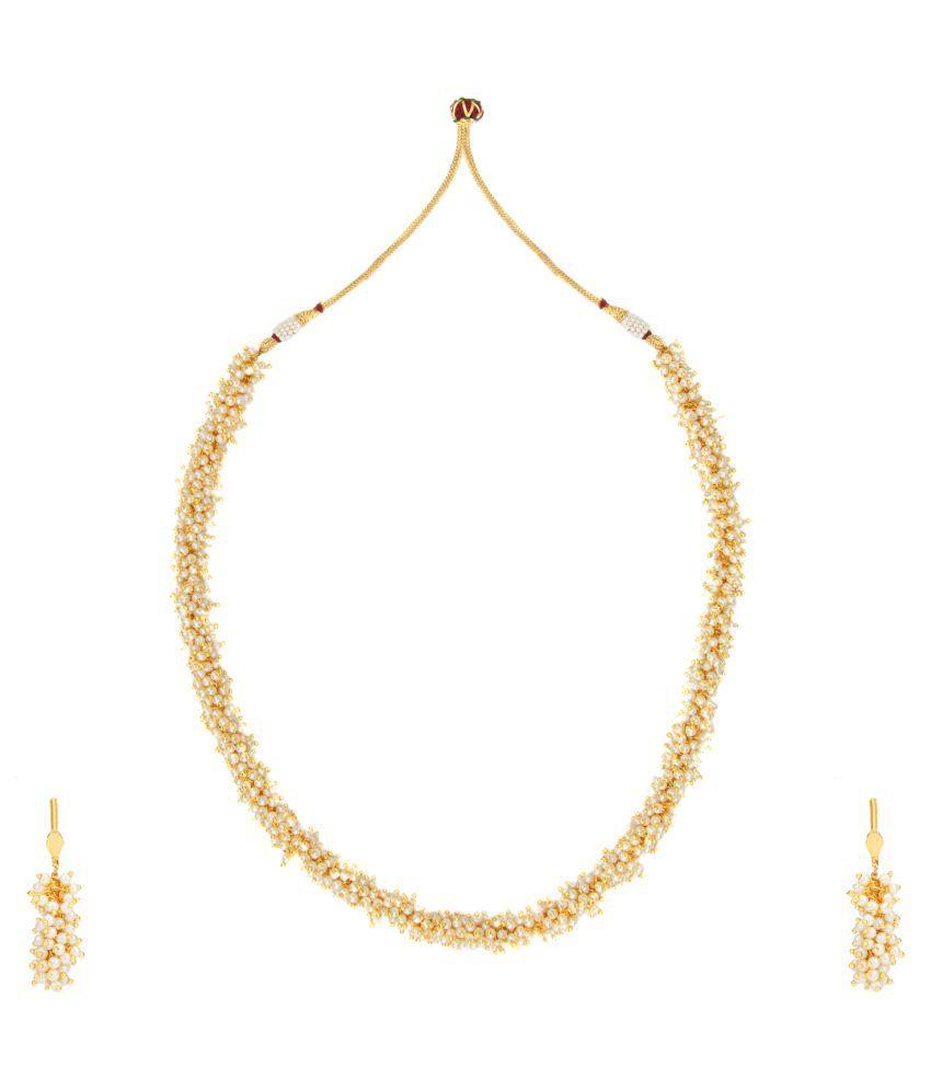 Adiva Ethnic And Traditional Indian Artisan Jewelry Set