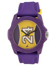Fastrack Purple Silicon Analog Watch