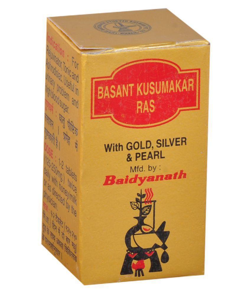 Baidyanath Basantkusmakar Ras (S.M.A) - 10 tablets