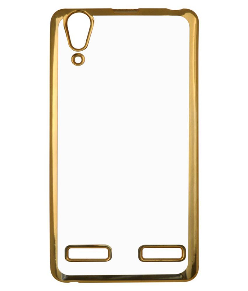 Lenovo A6000 Plus Cover by Coverage - Golden