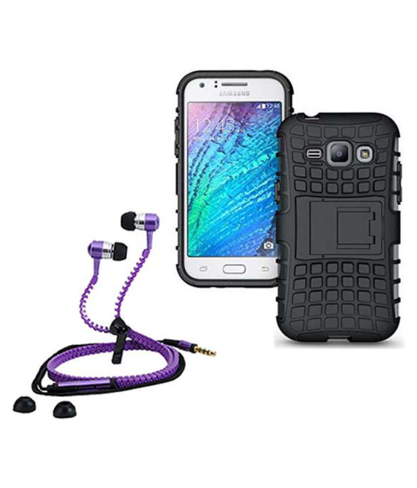 Samsung Galaxy J1 Ace Cover Combo by Style Crome