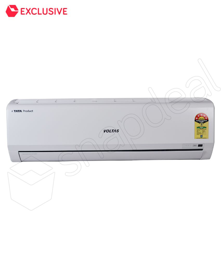 Upto 35% Off On Air Conditioners By Snapdeal | Voltas 1.2 Ton 5 Star 155 CY Split Air Conditioner @ Rs.26,300