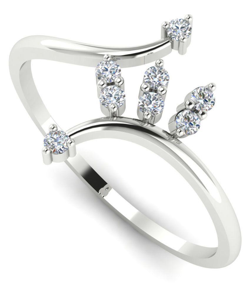 Astrum Diamonds 18k White Gold Ring