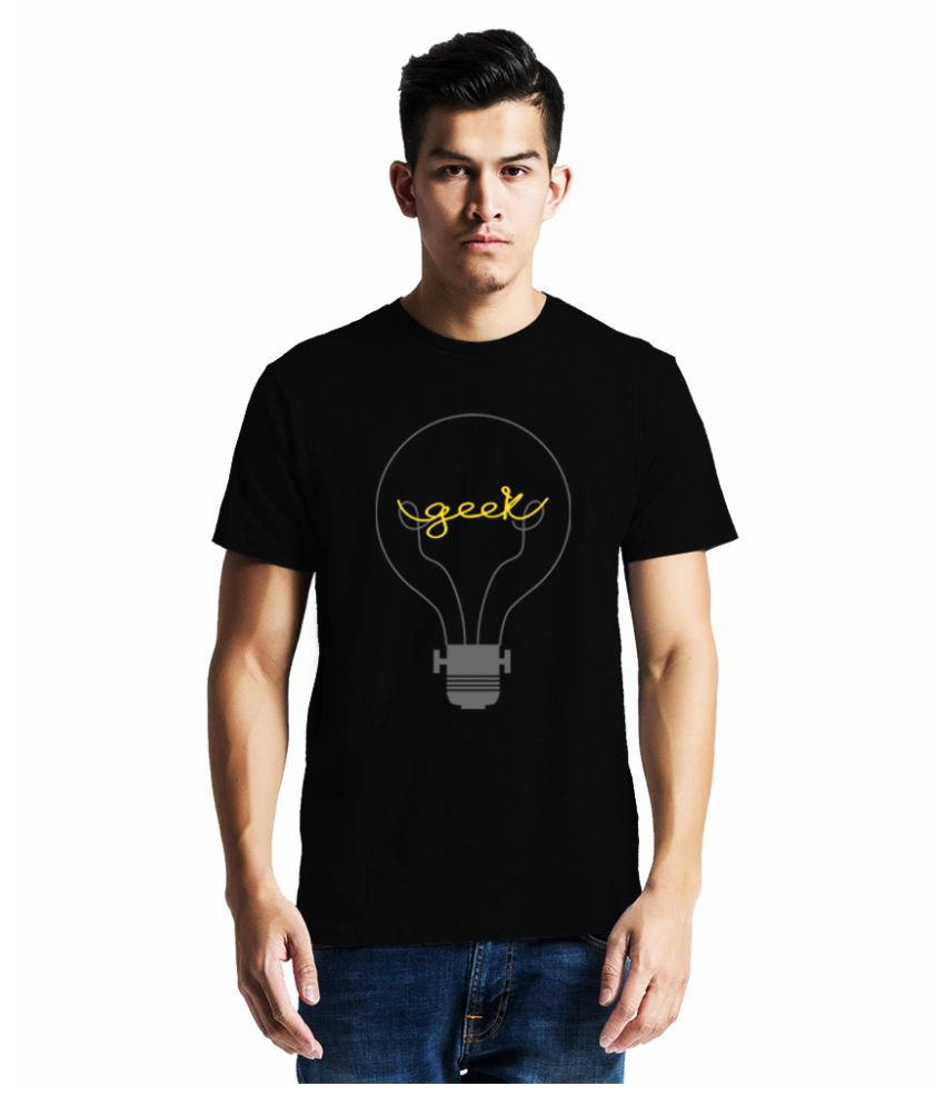 GeekDawn Black Round T-Shirt