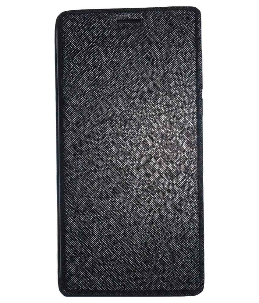 separation shoes 4d4f0 e9ff8 Xolo Era 4G Flip Cover by Mercator - Black