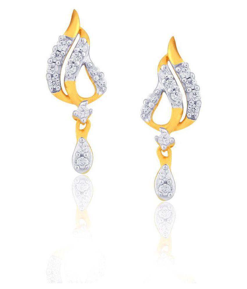 Gili 18k BIS Hallmarked Yellow Gold Diamond Studs