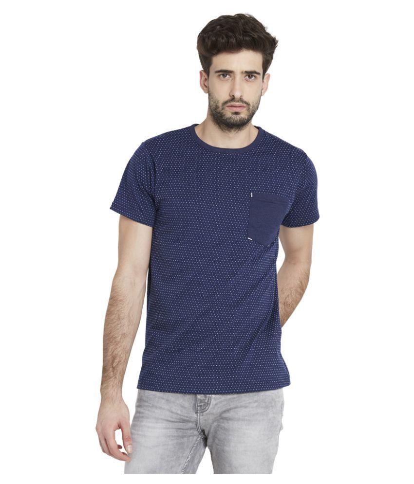 Globus Navy Round T-Shirt