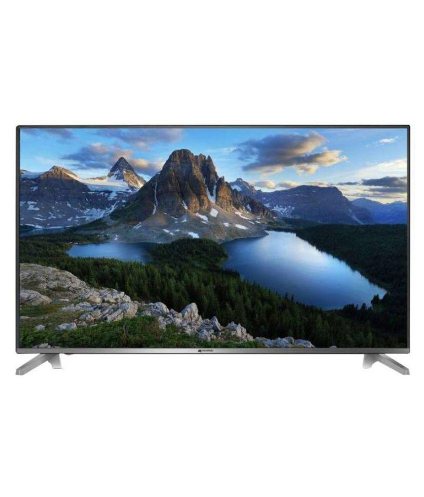 Micromax 50 Canvas-s 123 cm ( 50 ) Full HD (FHD) LED Television With 1 + 2 Year Extended Warranty