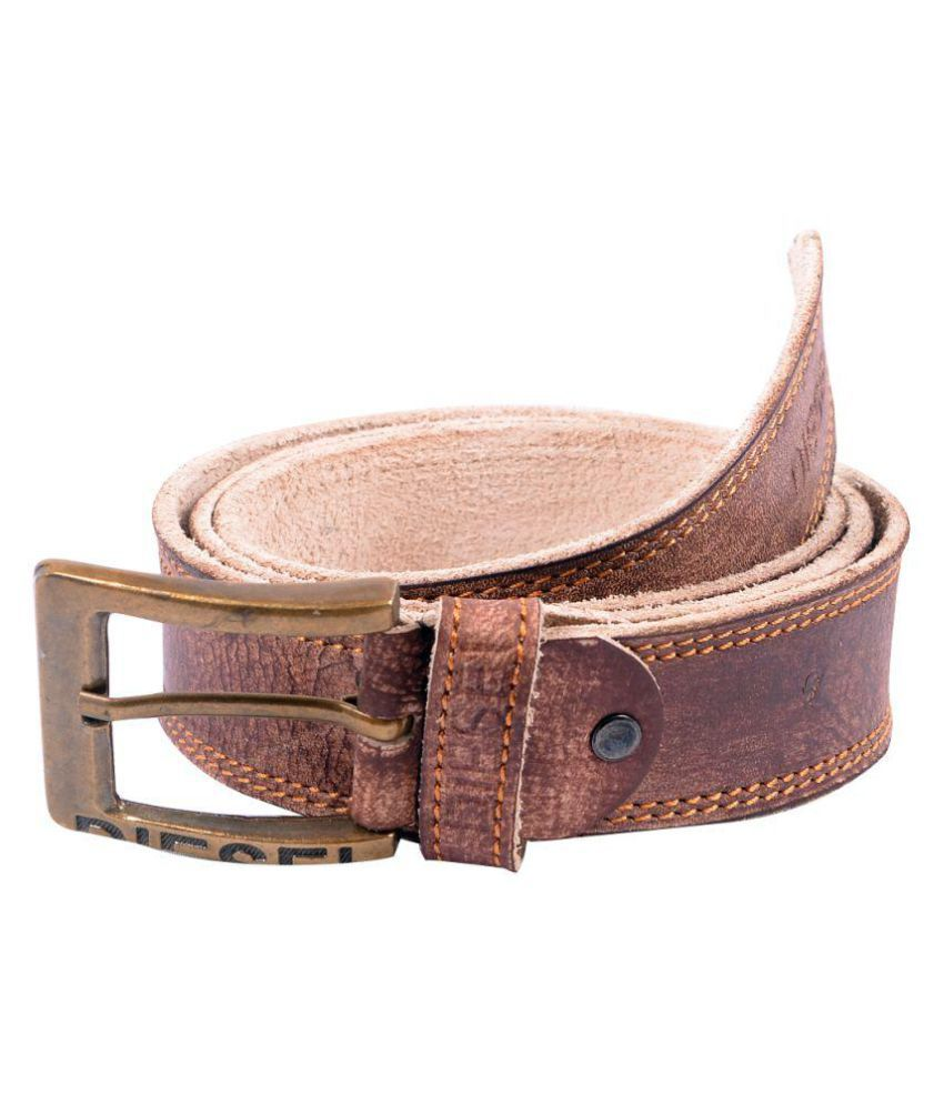 Fresh Brown PU Casual Belts