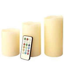 Hghlight Color-changing Led Candles With Remote Control