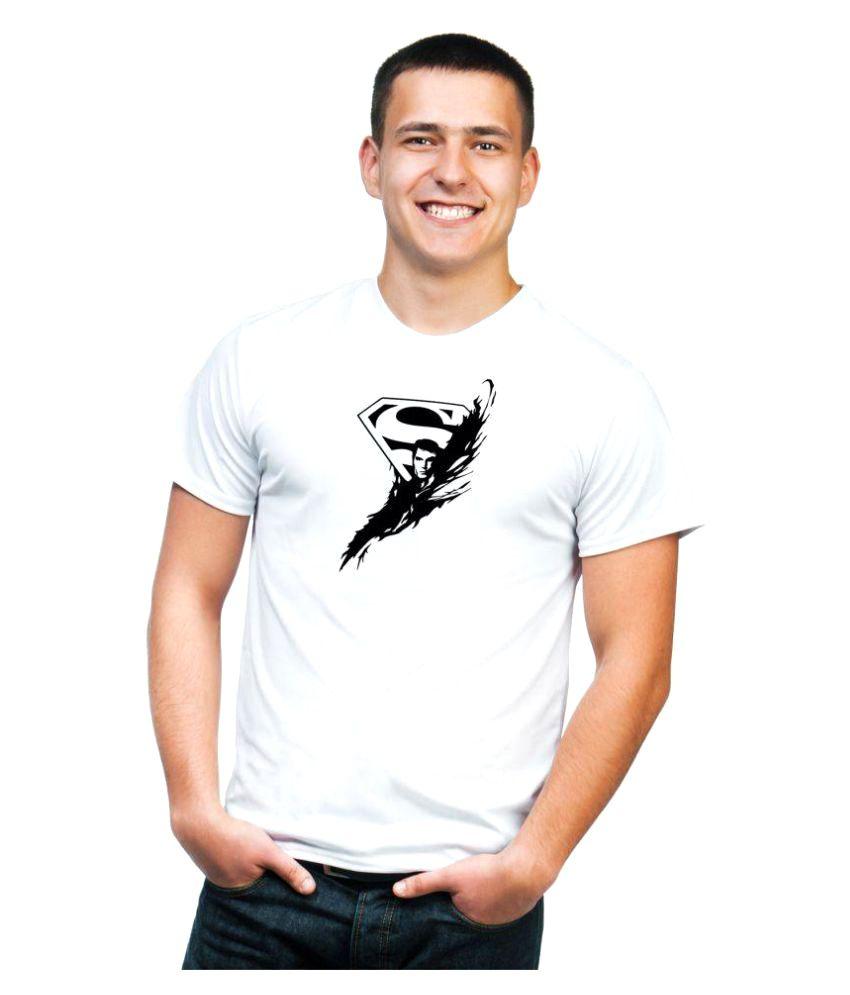 Kyra White Round T-Shirt