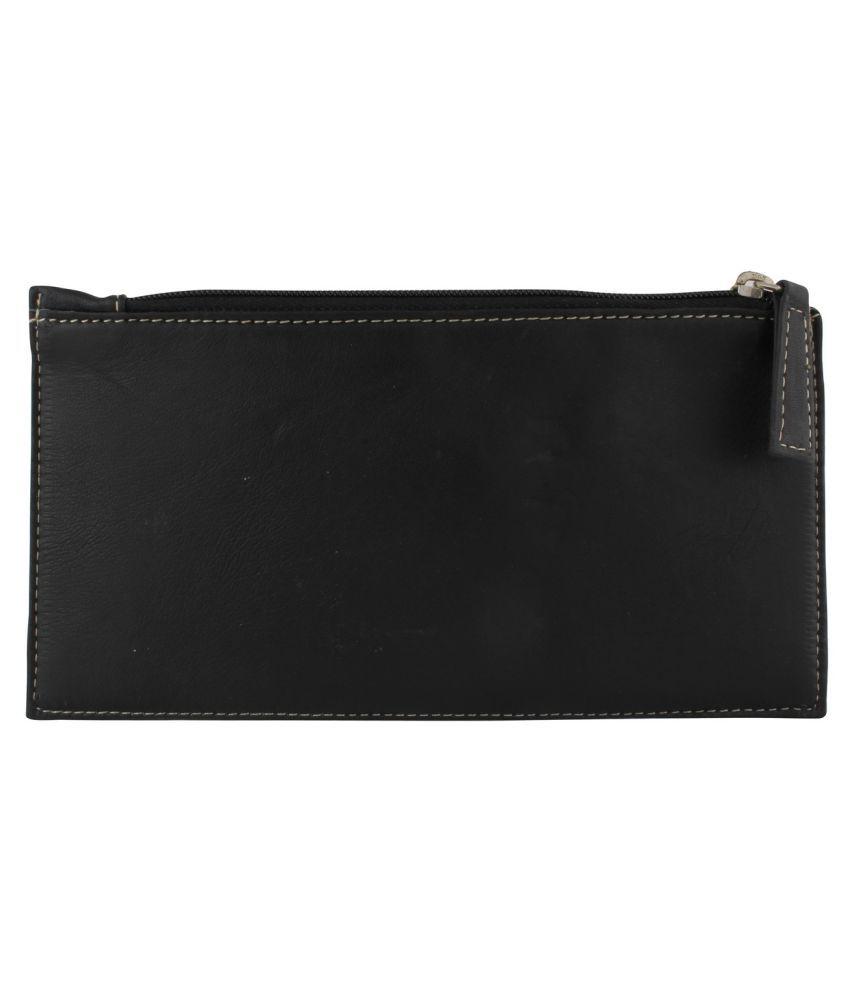 Xqzite Black Fabric Box Clutch