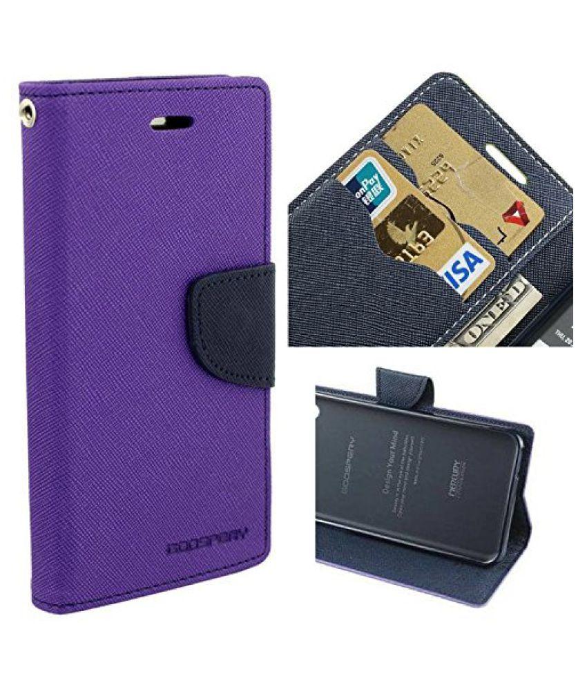 Samsung Galaxy J7 (2016) Flip Cover by acase - Purple