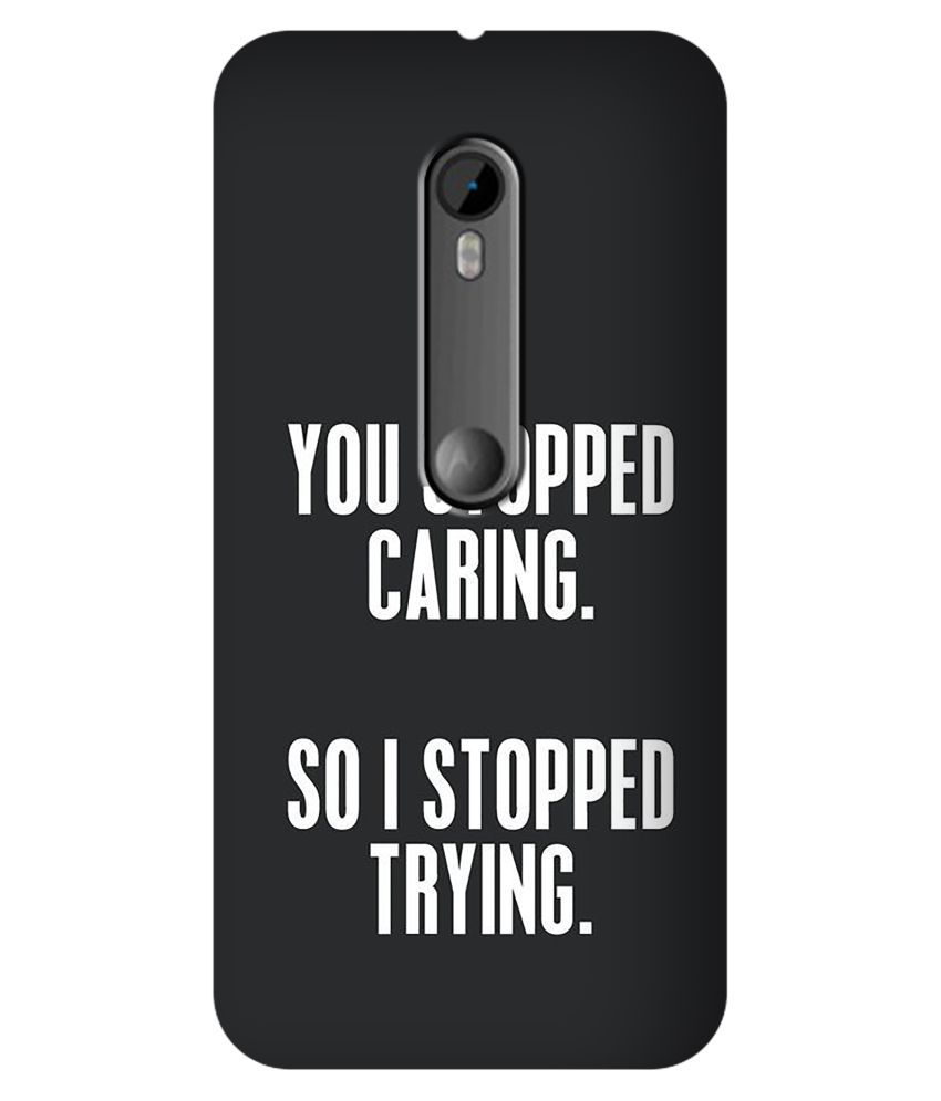 Moto G Turbo Printed Cover By SWAGMYCASE