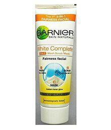 Garnier Skin Naturals White Complete 3 In 1 Fairness Facial, 100gm