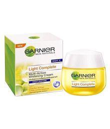 "GARNIER SKIN NATURALS Light Complete Multi-Action Whitening Night Cream "" NIGHT RESTORE ""Net Wt .48gm"