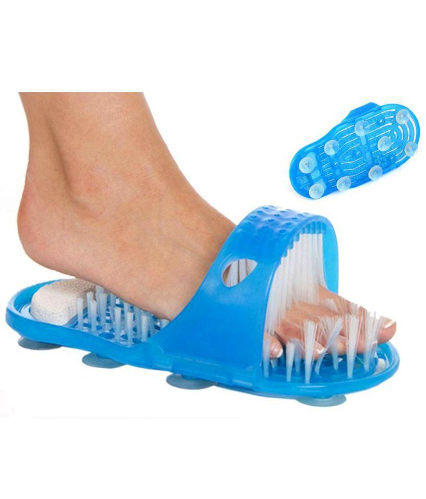 BM Easy Feet Foot Scrubber To Clean And Remove Callus Bath U0026 Shower Foot  Cleaner And ...