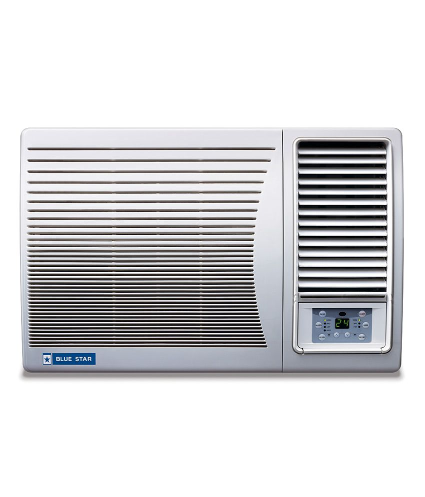 Blue star 1 5 ton 3 star 3w18lb window air conditioner for 12 inch high window air conditioner