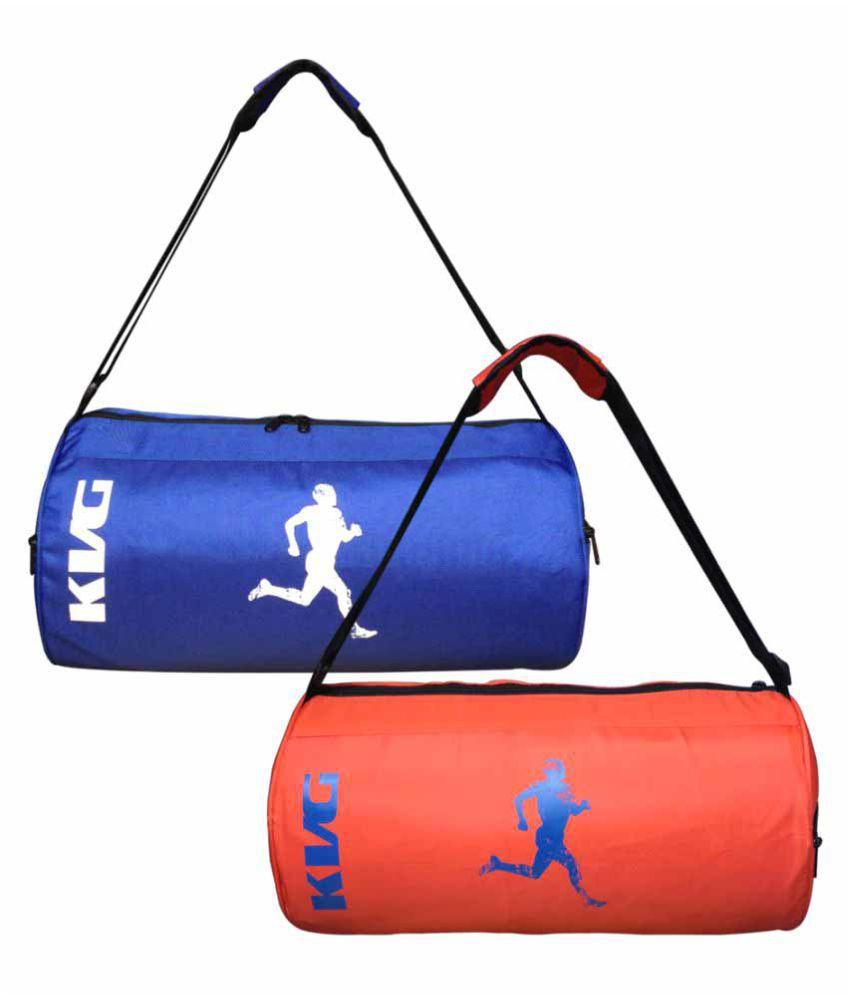 Kvg Multi colour Gym Bag