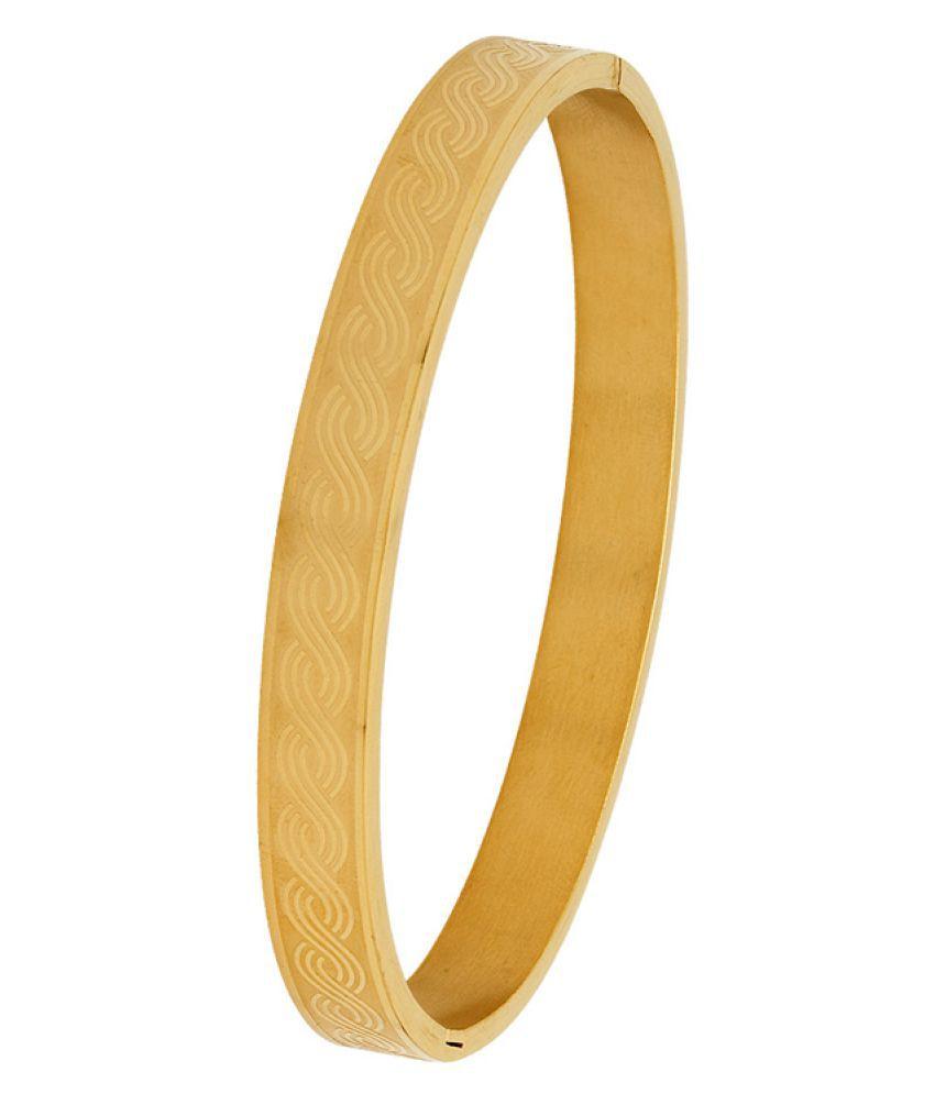 Voylla Golden Kada Bracelet