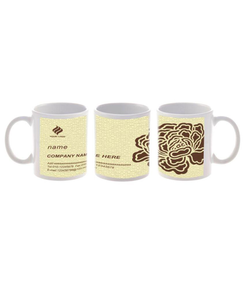 Print My Emotion Ceramic Coffee Mug 1 Pcs 200 ml