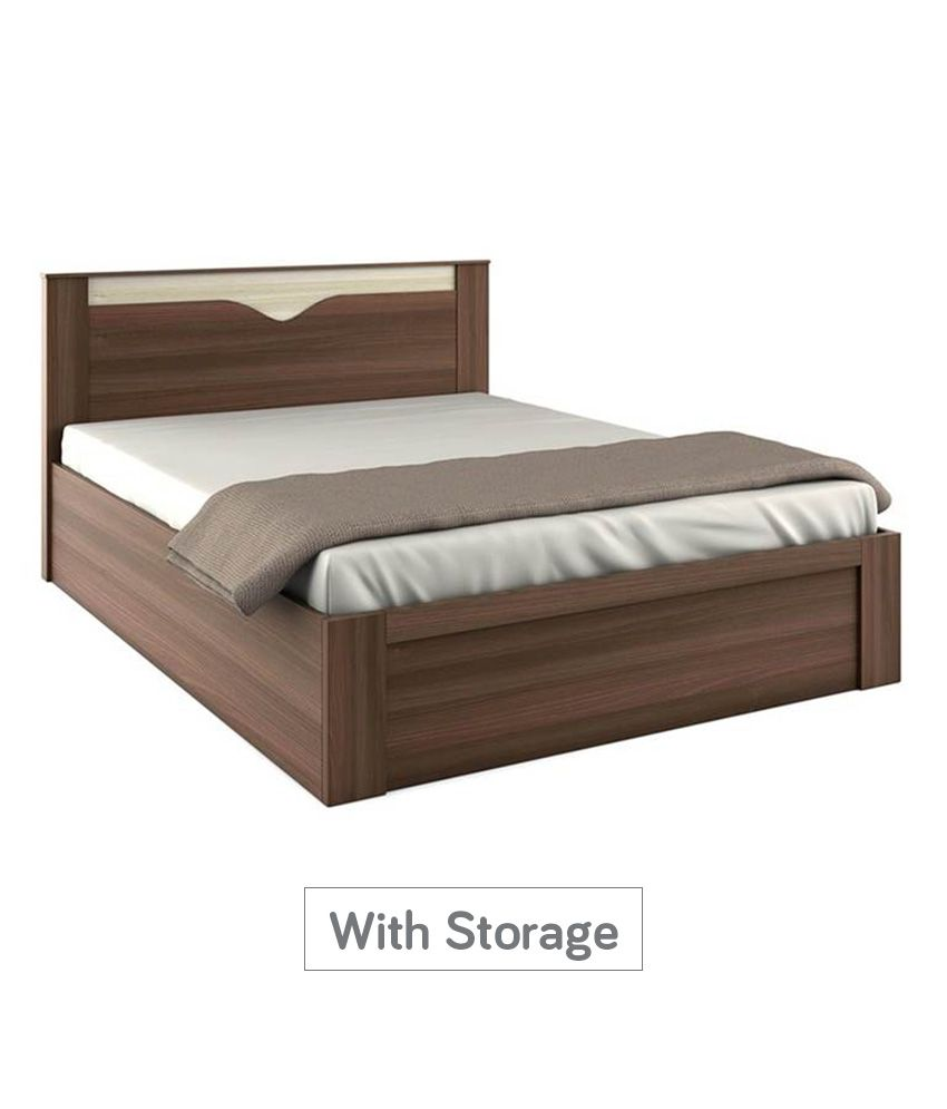 spacewood crescent storage king size bed buy spacewood crescent