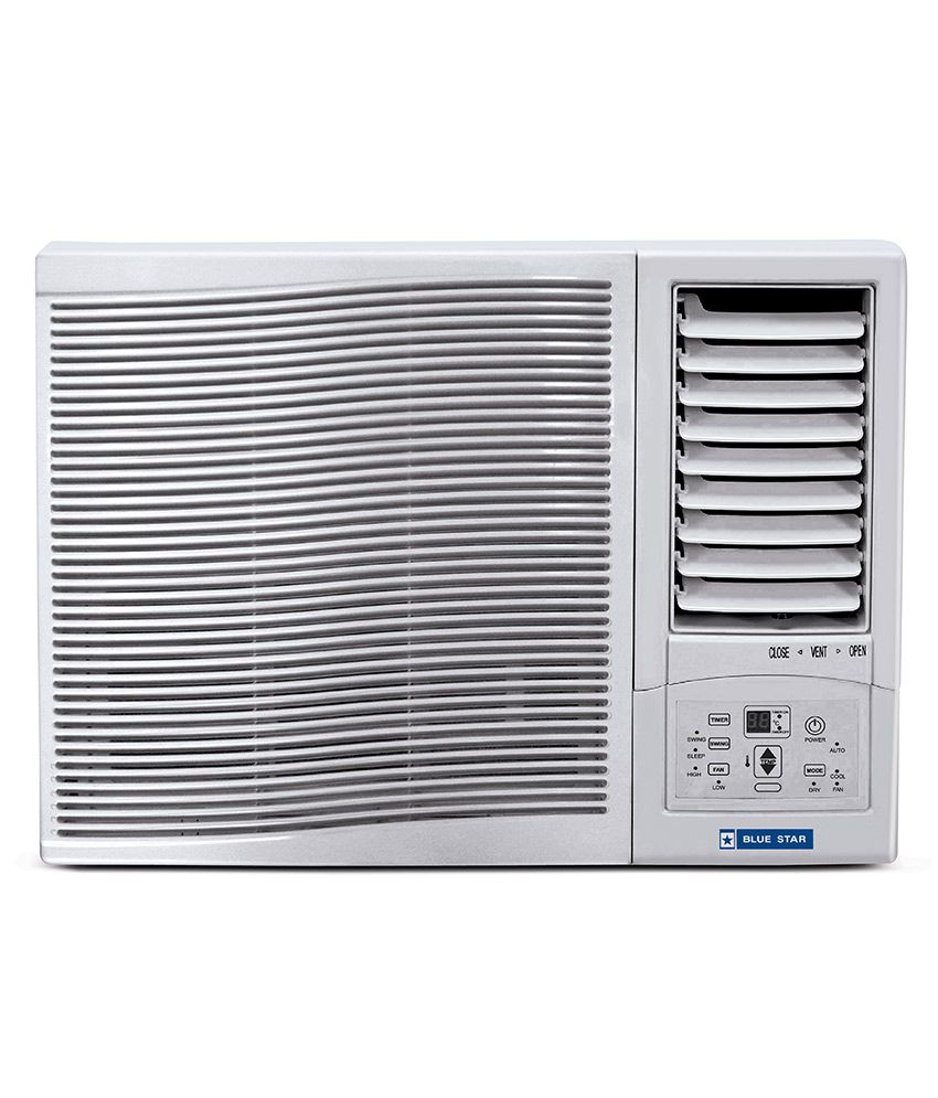 Blue Star 0.75 Ton 2 Star 2WAE081YCF Window Air Conditioner(2018 BEE Rating) Free Standard Installation Snapdeal Rs. 17400.00