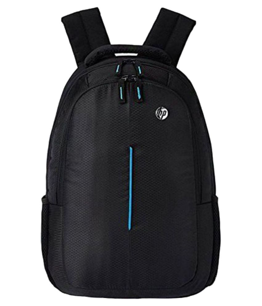 HP Black Polyester Laptop Bags Office Bag For Men  amp; Women Backpack  15.6 Inch Carry Bag Shoulder Bag