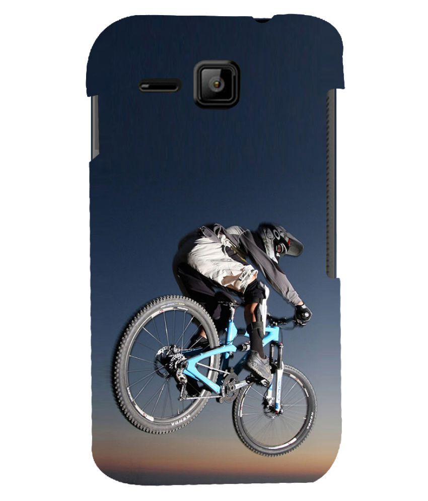 best service 33975 9eac2 Micromax Bolt S301 Printed Cover By Fusion Lite