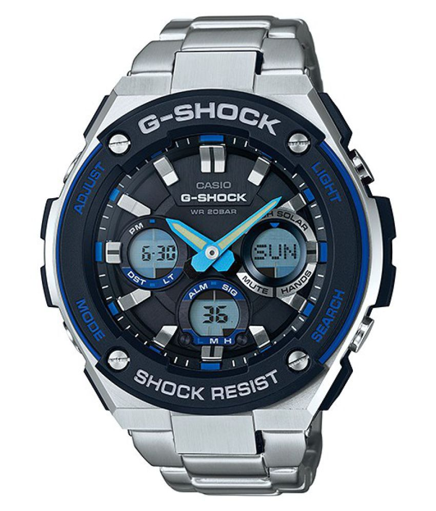 510551ec6b5 Casio Silver Analog-Digital Watch - Buy Casio Silver Analog-Digital Watch  Online at Best Prices in India on Snapdeal