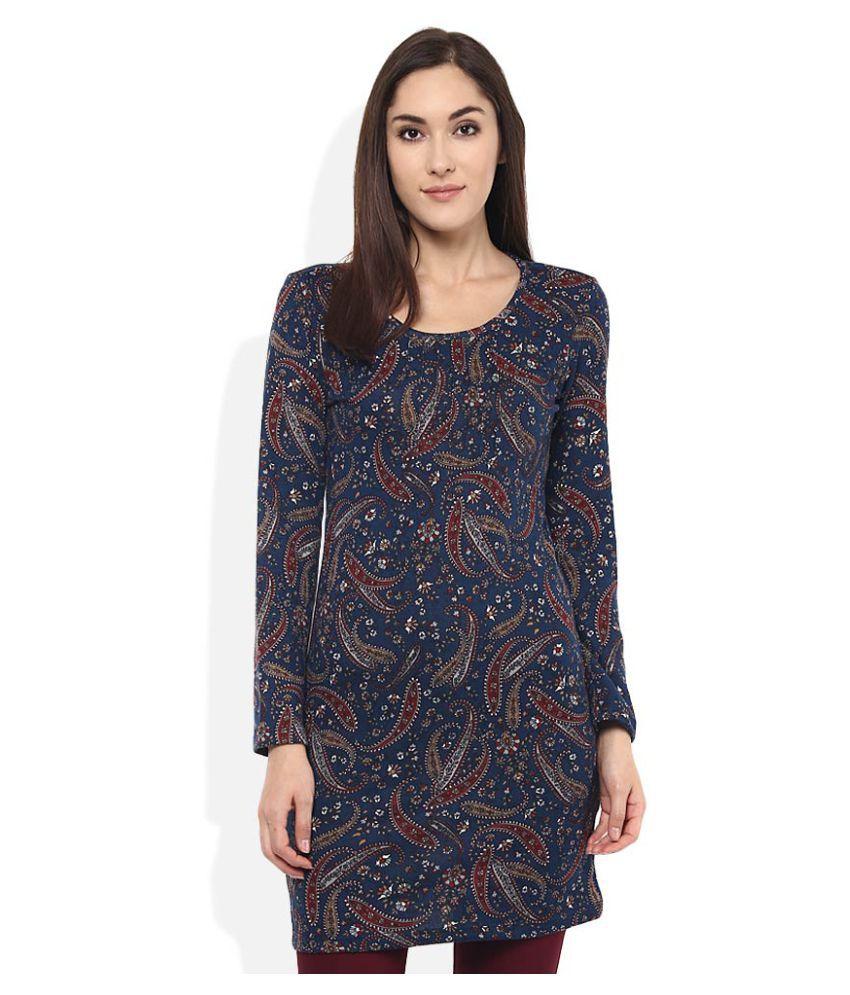 Izabel London By Pantaloons Multi Color Polyester Tunics