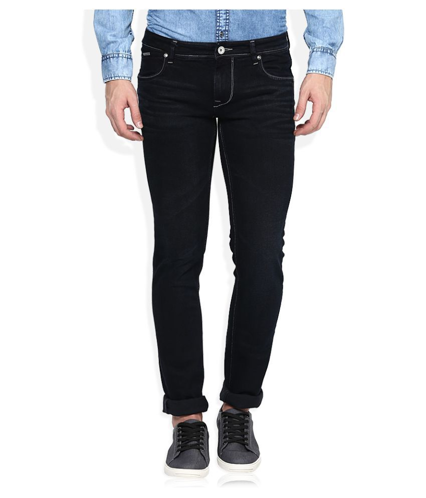 LAWMAN pg3 Black Skinny Solid