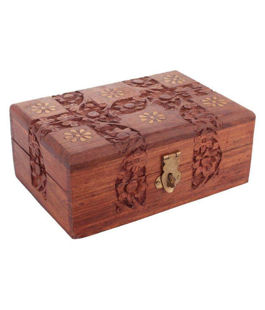 Craftgasmic Brown Jewellery Box
