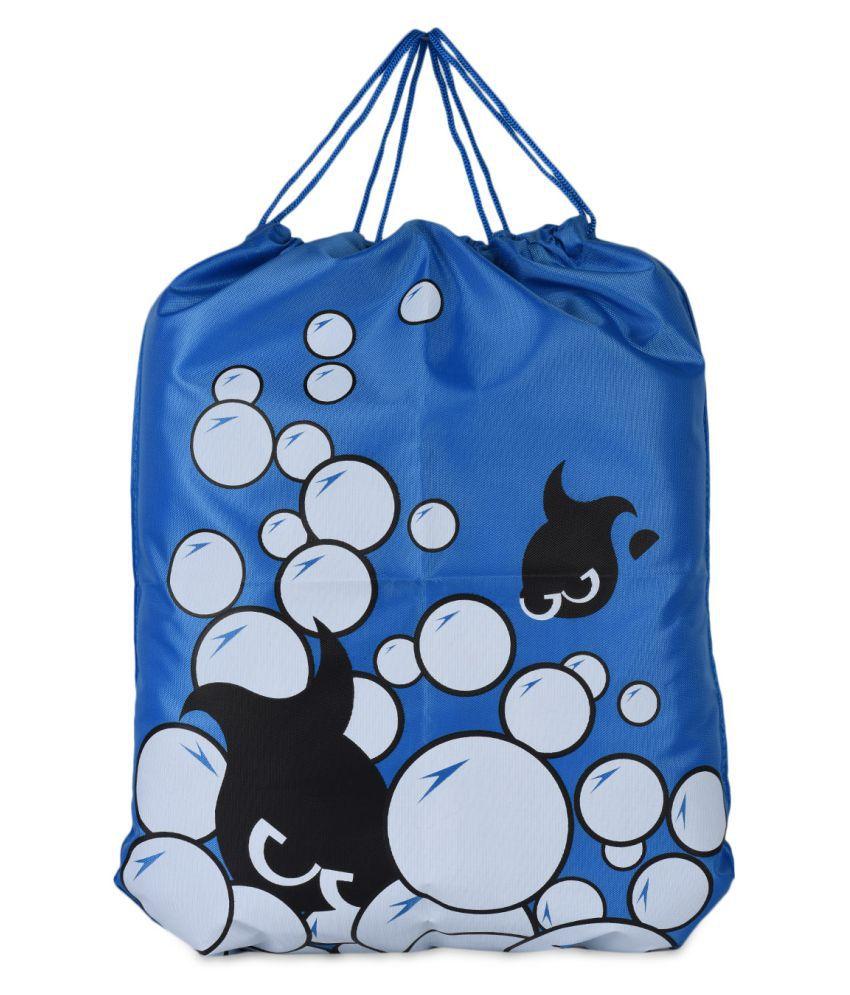 Loverlobby Blue Gym Bag