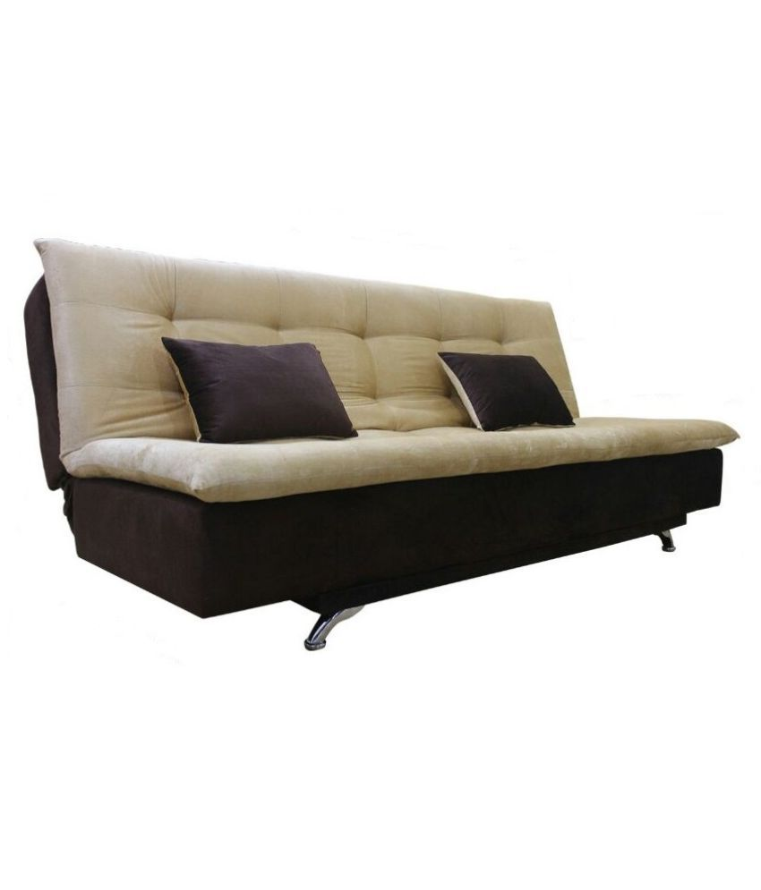 Adorn India Aspen Sit U0026 Sleep Fabric Sofa Cum Bed ...