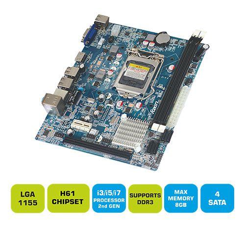 Foxin FMB H61 1155 Socket Motherboard